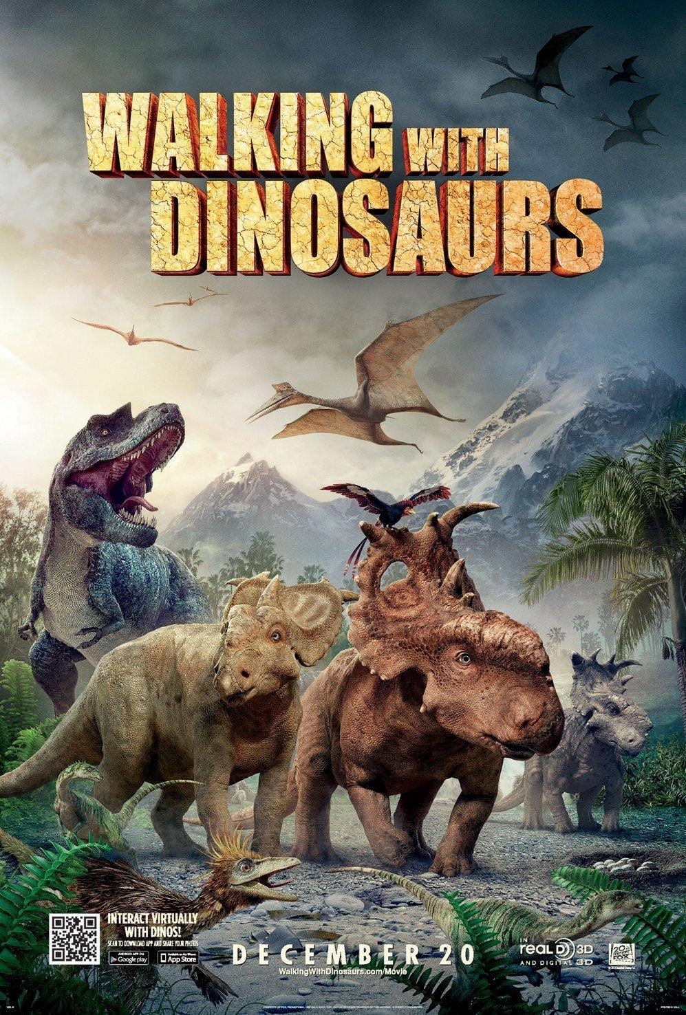 دانلود انیمیشن همراه با دایناسورها